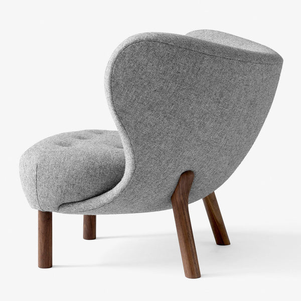 Armchair Little Petra VB1, various fabrics and wood finishes