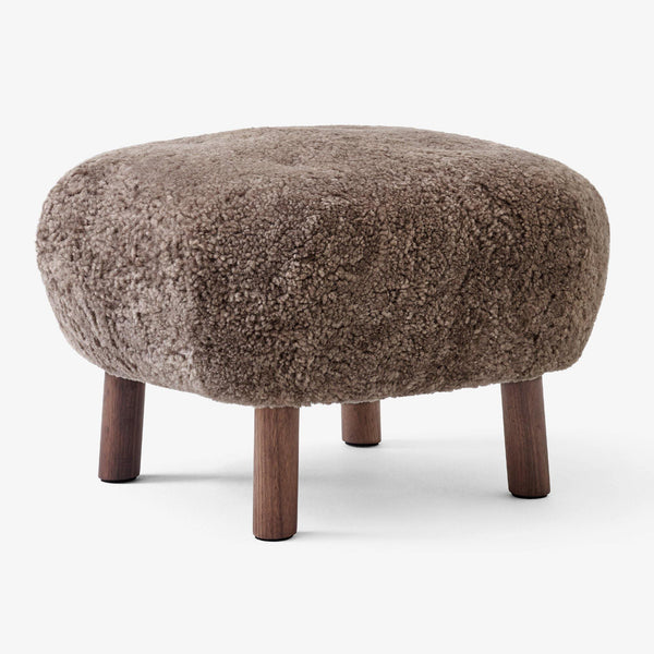 Tumba Little Petra ATD1, various sheepskins and wood finishes