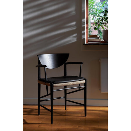 Dining chair Drawn HM4, black