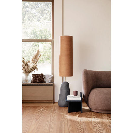 Floor lamp Hebe, large / medium lampshade, different colors