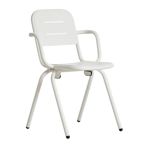 Outdoor chair with armrests RAY, double set, different colors