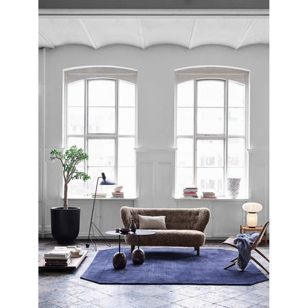 Sofa Little Petra VB2, Sahara sheepskin, different wood finishes - fast delivery! - Nordic Design Home