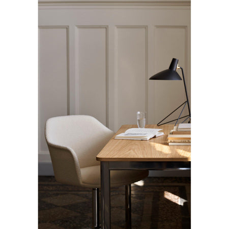 Office chair Rely HW50, different fabrics & leg finishes - Nordic Design Home