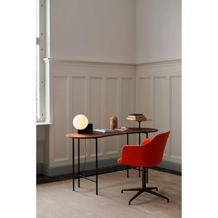 Office chair Rely HW40 / HW45, different fabrics & leg finishes - Nordic Design Home