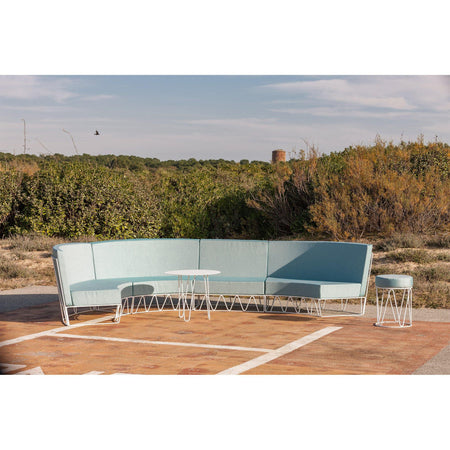 Outdoor sofa Lagarto, straight module, different heights and colors - Nordic Design Home