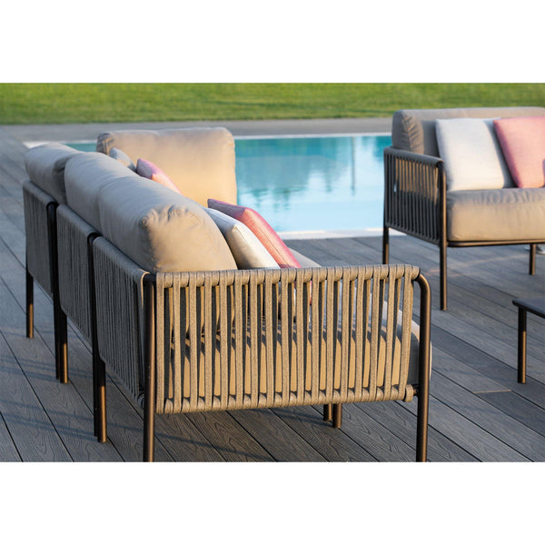 Sofa Key West, two-seater middle module, different colors - Nordic Design Home