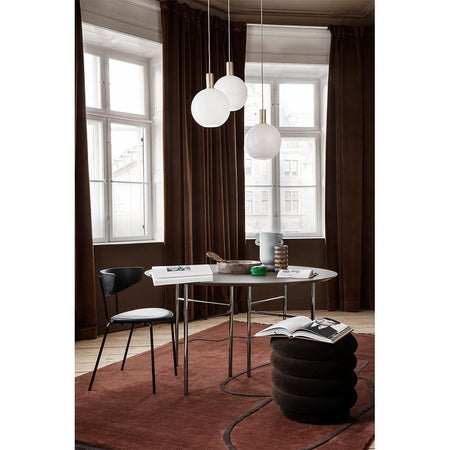Ceiling lamp Collect - Opal Shade, round / low, different colors - Nordic Design Home