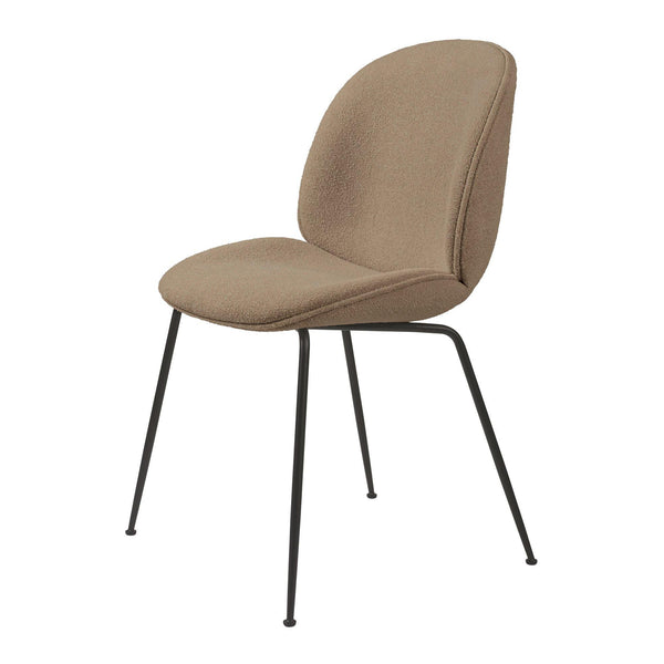 QUICK DELIVERY Dining chair Beetle, Bouclé fabric, different shades & finishes