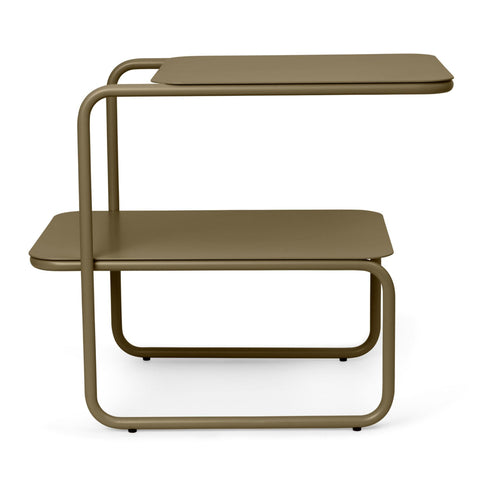 Side table Level, olive green