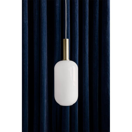 Ceiling lamp Collect - Opal Shade, oval / low, different colors - Nordic Design Home