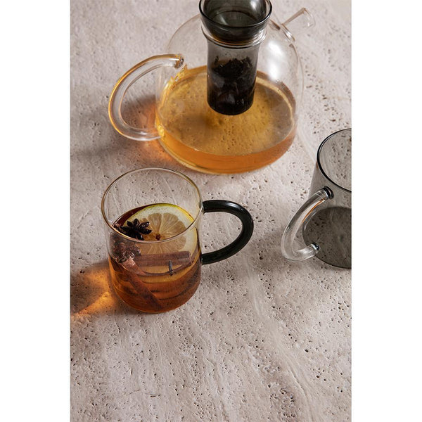 Cups Still, untinted glass, double set - Nordic Design Home
