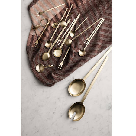 Measuring / serving spoon Fein, double set