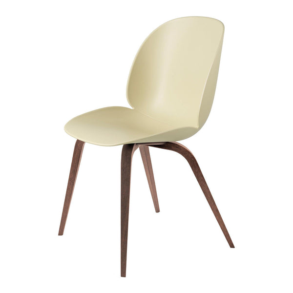 Dining chair Beetle with wooden legs, in different colors and finishes