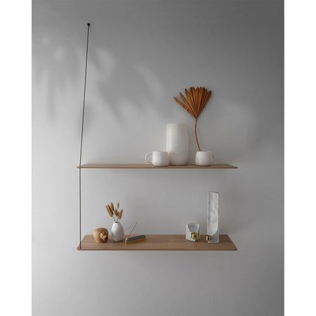 Wall shelf Stedge small 60cm, oak