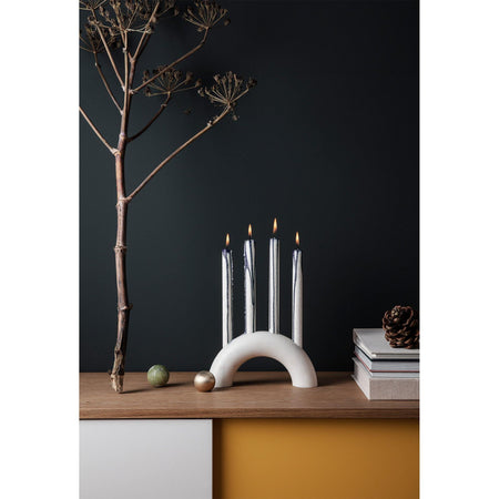 Candles Duo, double set, blue