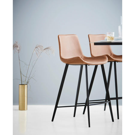 Bar stool Hype, different heights and upholstery - Nordic Design Home