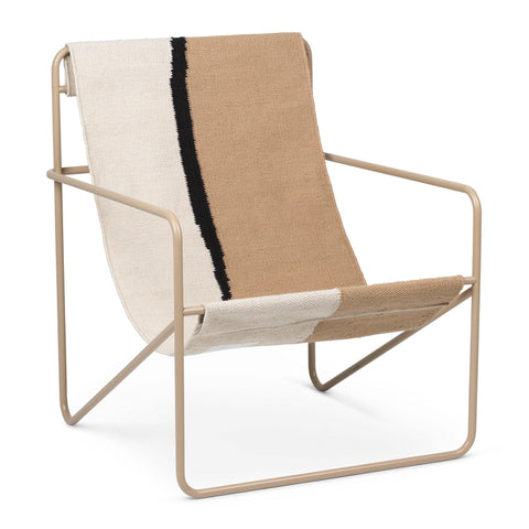 Armchair Desert, beige frame / different colors