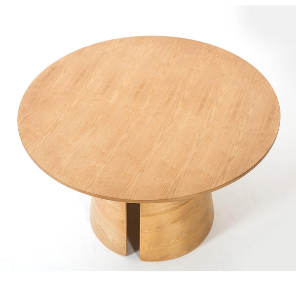 Dining table Cep Ø137cm, natural -30% - Nordic Design Home