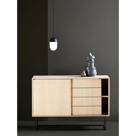 Chest of drawers Virka, natural oak