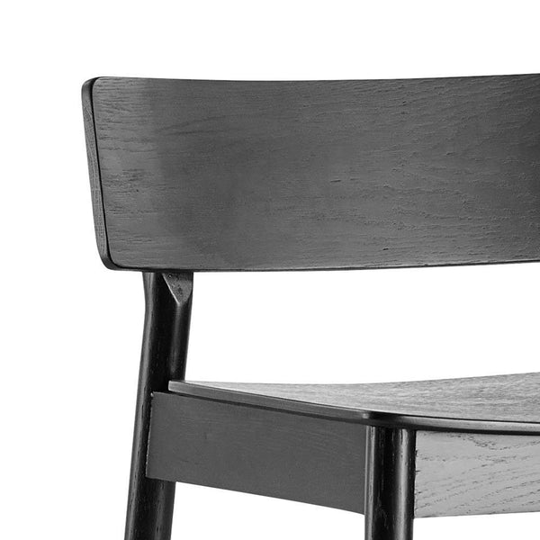 Bar stool Pause 2.0 black, different seat heights 65cm / 75cm - Nordic Design Home