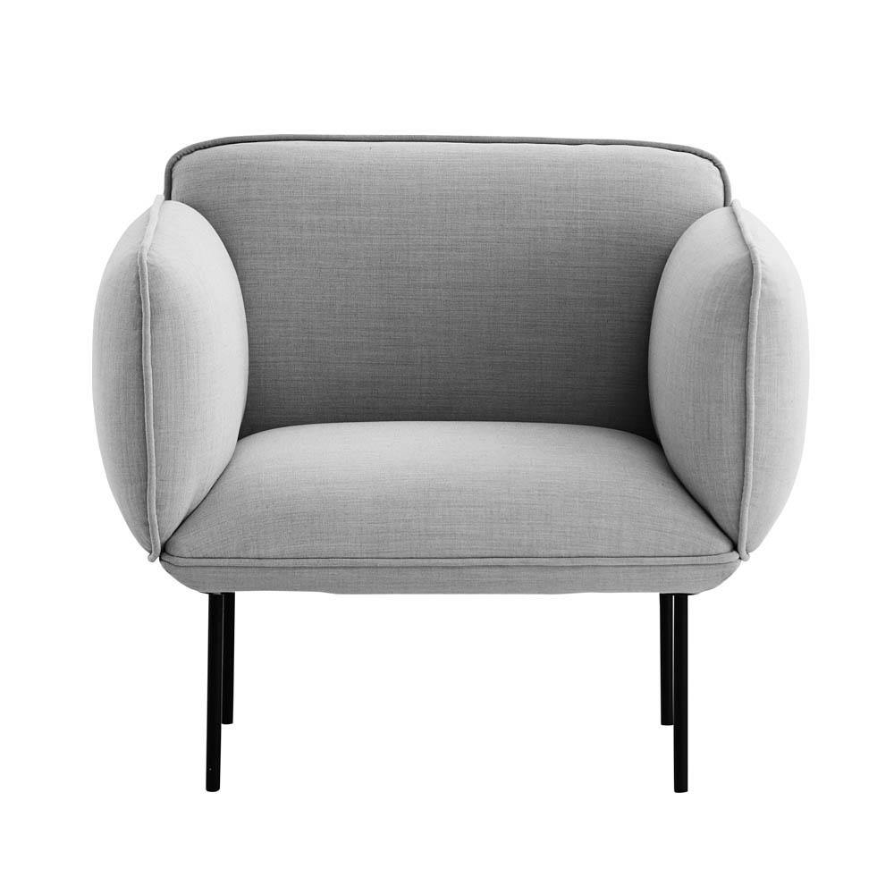Armchair Nakki large, price group 1, different colors - Nordic Design Home