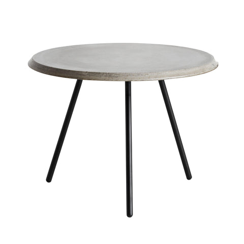 Soround Coffee table Ø60cm, concrete, different heights