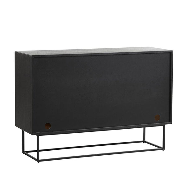 Chest of drawers Virka, black WOUD Mööbel - Nordic Design Home