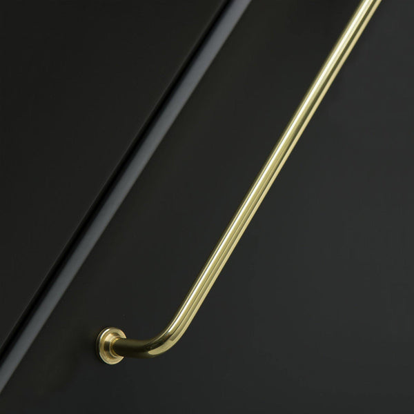 Handle 1353, polished brass, different sizes - Nordic Design Home