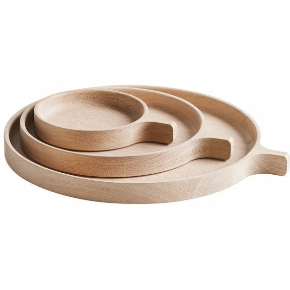 Tray Racket oak, different sizes WOUD Accessory - Nordic Design Home