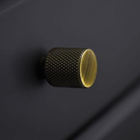Cabinet knob Helix, brass NDH Handle - Nordic Design Home