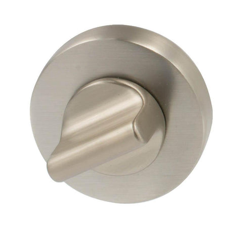 Door lock Round, stainless steel