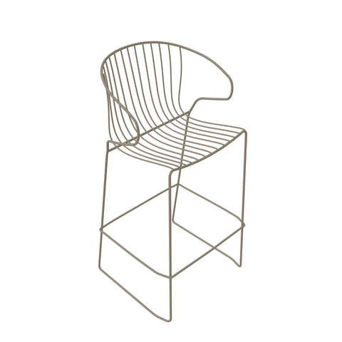Bar chair Bolonia, seat height 65cm, different colors - Nordic Design Home