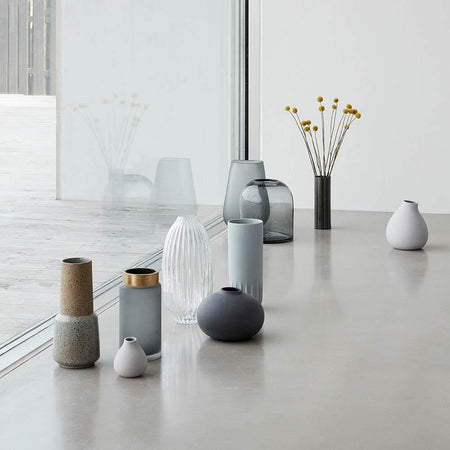 Vases Verve light gray, double set, small -50%