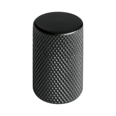 Engraved cabinet knob Graf, black NDH Handle - Nordic Design Home