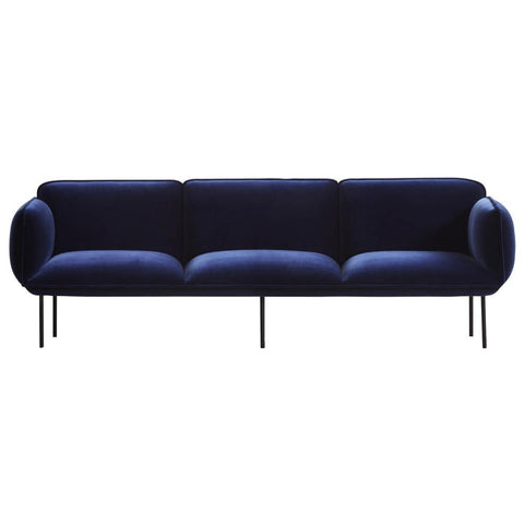 Triple sofa Nakki, price group 1, different colors WOUD Mööbel - Nordic Design Home