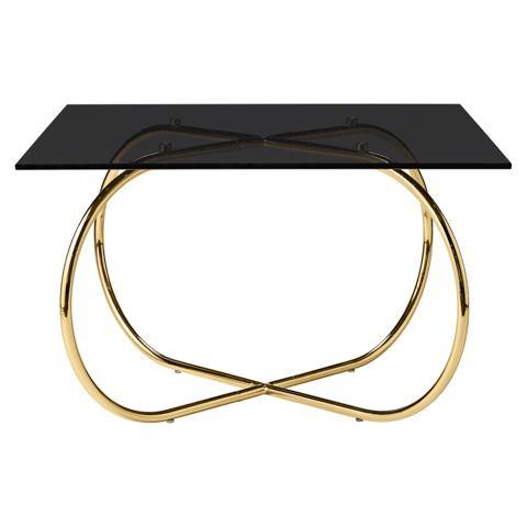 Coffee table Angui, golden AYTM Furniture - Nordic Design Home