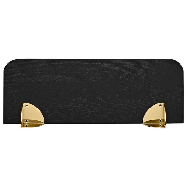 Wall shelf Aedes black and gold, different sizes
