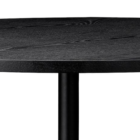 Dining table Solus, Ø70cm, Black