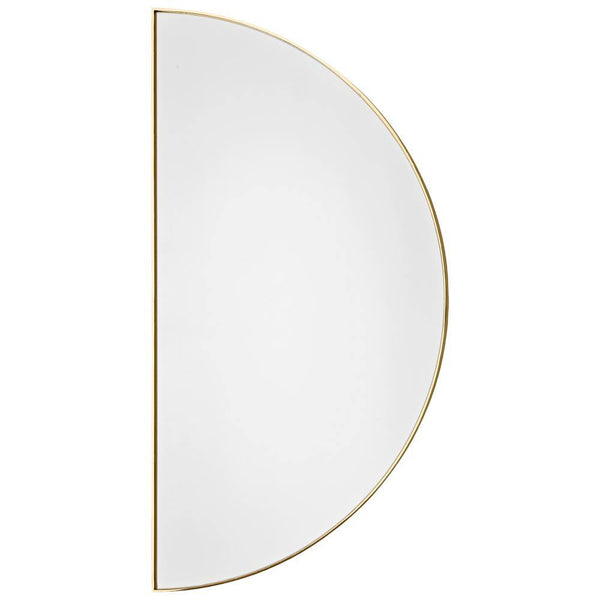 Mirror Unity, crescent, different finishes