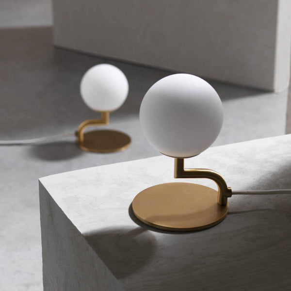 Table lamp Mobile, brass