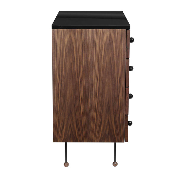 Chest of drawers 62, with four drawers - Nordic Design Home
