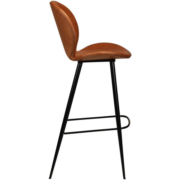 Bar stool Cloud, leather, different heights and colors - Nordic Design Home
