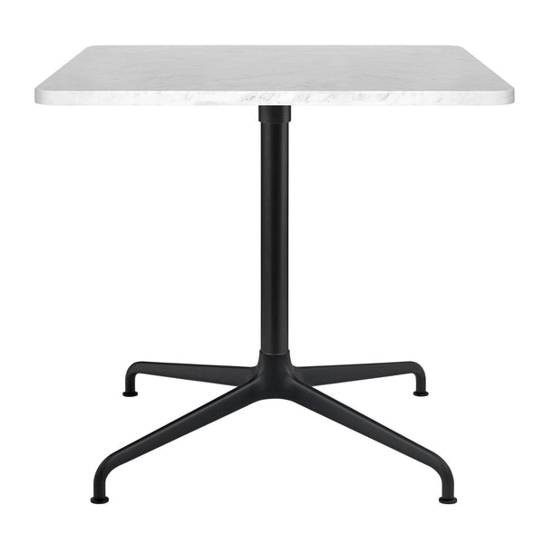 Coffee table Beetle, different table leg and surface finishes, 75x75cm - Nordic Design Home