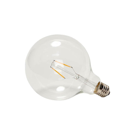 LED light bulb, transparent