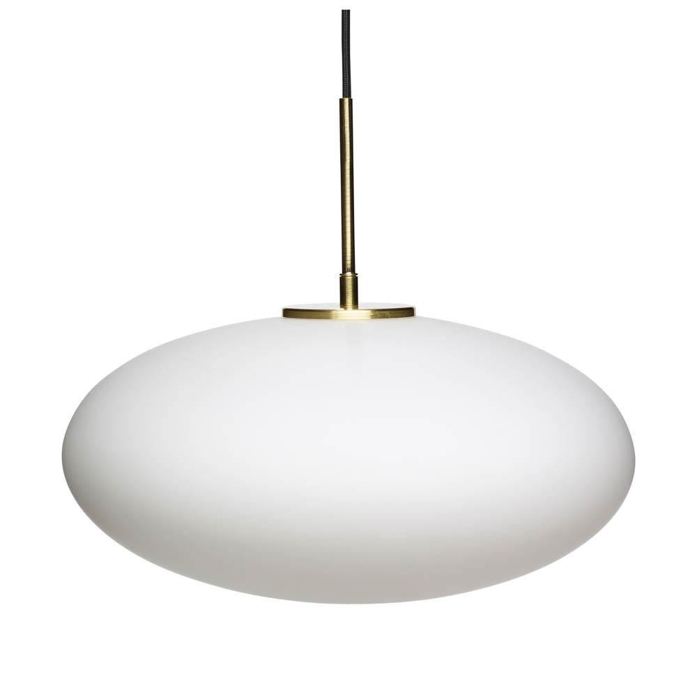 Ceiling lamp Clyde, opal glass