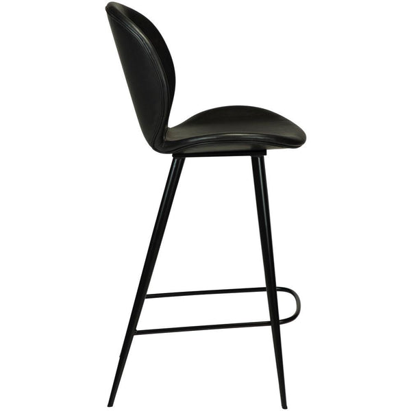 Bar stool Cloud, seat height 67cm, leather cover, different colors Dan-Form Furniture - Nordic Design Home