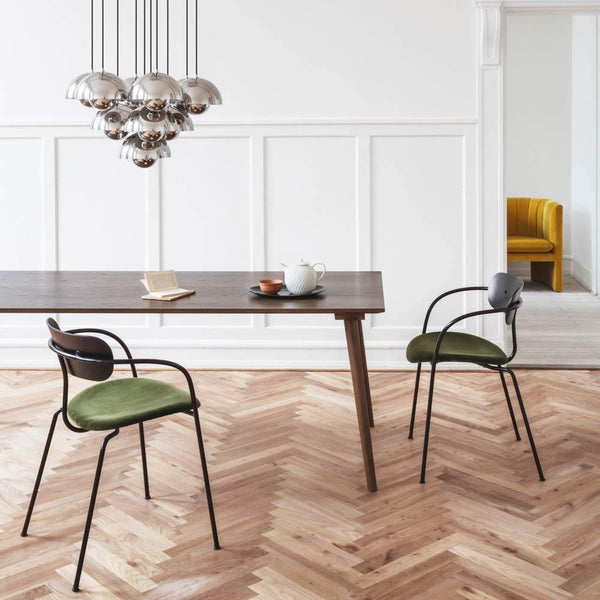 Dining table In Between SK5, different wood finishes, 200x90cm