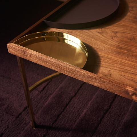 Coffee table Unity, black AYTM Furniture - Nordic Design Home