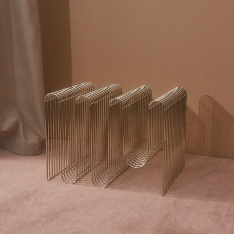 Magazine holder Curva, golden AYTM Accessory - Nordic Design Home