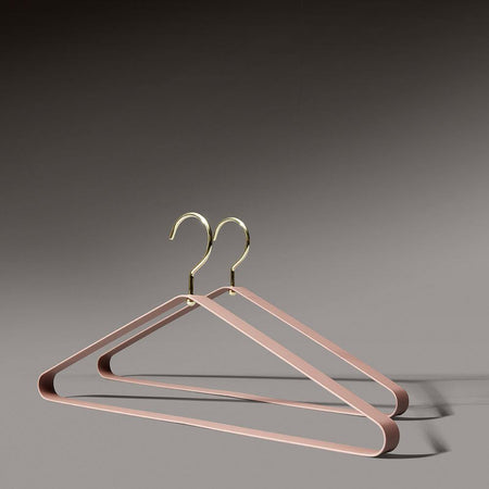 Clothes hangers Vestis, different colors, double set